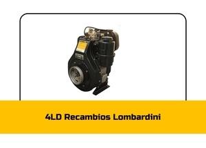 Recambios 4 LD Lombardini