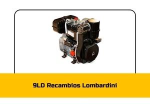 Recambios 9 LD Lombardini